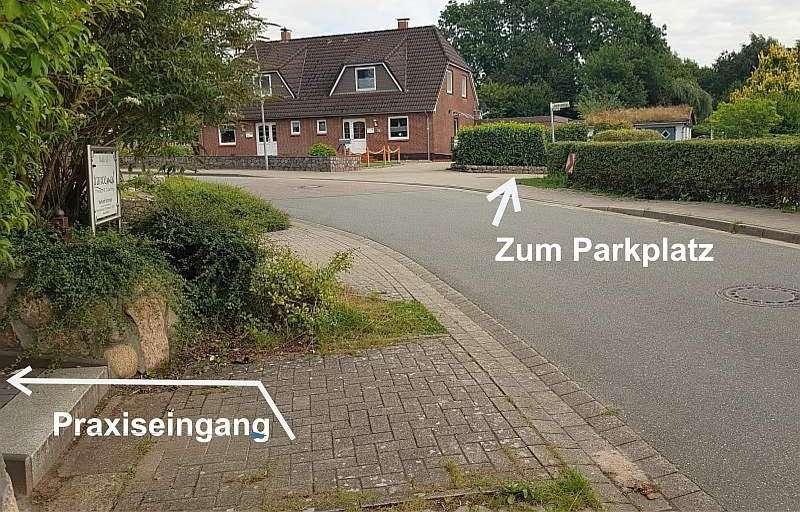 Parkplatz Praxis Idstedt neurobiomed